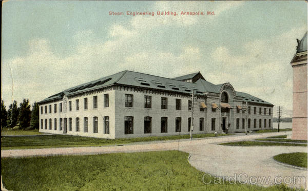Steam Engineering Building Annapolis Maryland