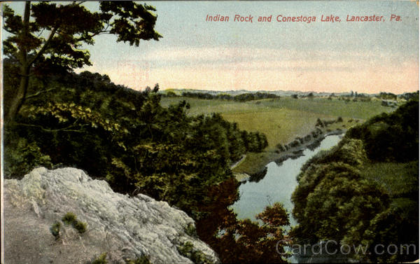 Indian Rock And Conestoga Lake Lancaster Pennsylvania