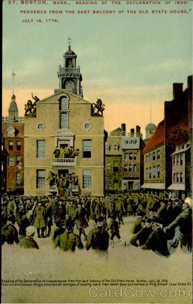 The Old State House Boston Massachusetts