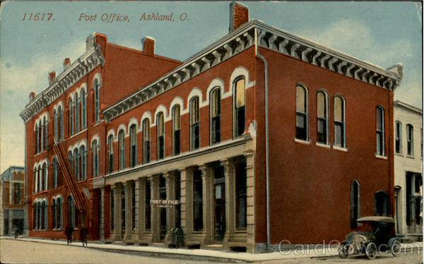 Post Office Ashland Ohio