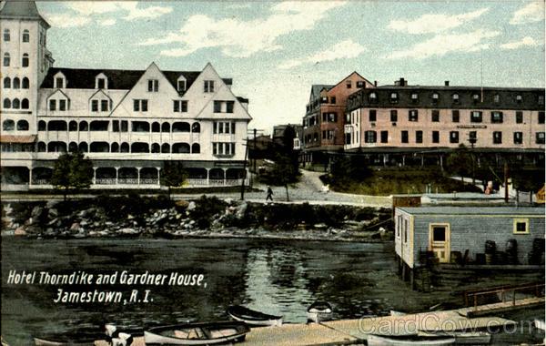 Hotel Thorn And Gardner House Jamestown Rhode Island