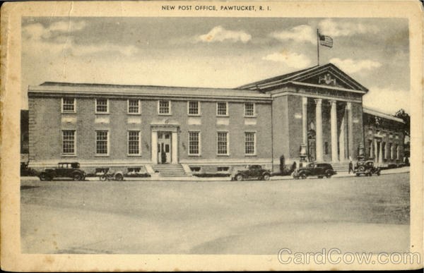 New Post Office Pawtucket Rhode Island