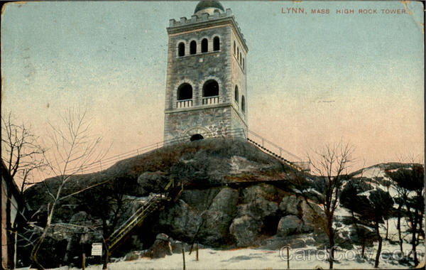 High Rock Tower Lyne Massachusetts
