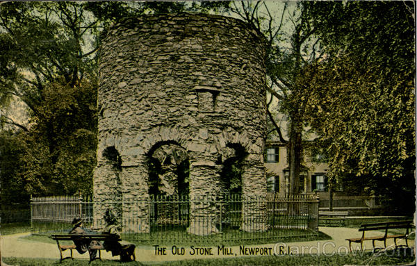 The Old Stone Mill Newport Rhode Island