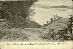 Sand Bar Ferry, Savannah River ( South Carolina)