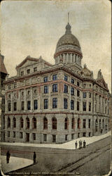 Nestmoreland County,Court House Postcard