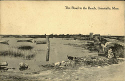 The Road Of The Beach
