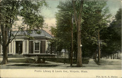 Public Library & Lewis Ave