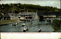 Public Boat House, At Riverside