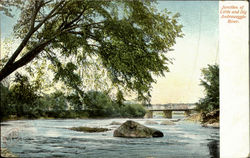 Junction Of Little And Big Androscoggin River