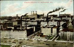 Schlitz Brewing Co Postcard