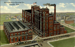 Metz Brothers Brewing Co Postcard