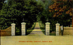 Entrance National Cemetery