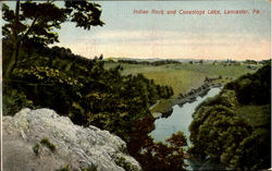 Indian Rock And Conestoga Lake
