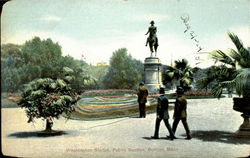 Washington Statue, Public Garden