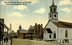 Federated Church,Newmarket House & Town Hall