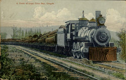 The Train Of Logs,Coos Bay