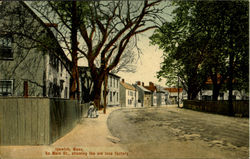 Main Street,Showing The Old Lace Factory