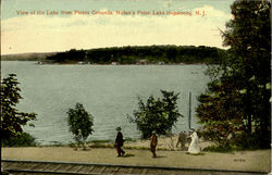 View Of The Lake From Picnic Grounds, Nolan'S Point