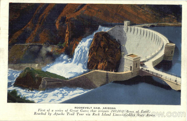 Roosevelt Dam Arizona