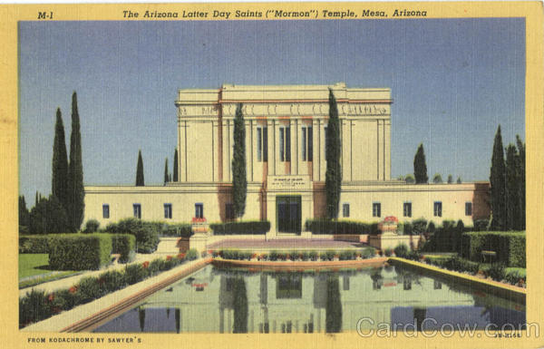 The Arizona Latter Day Saints (Mormon) Temple Mesa