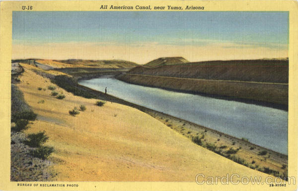 All American Canal Yuma Arizona