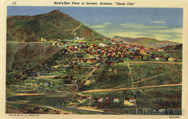 Bird's-Eye View of Jerome Arizona