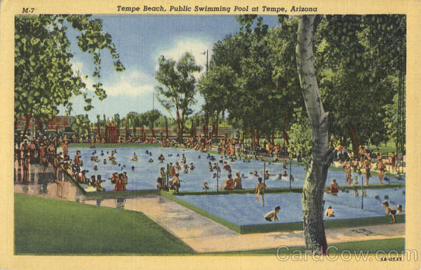 Tempe Beach, Public Swimming Pool Arizona