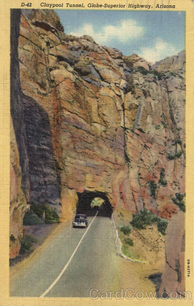Claypool Tunnel Globe Superior Highway Arizona