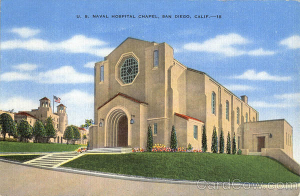 U. S. Naval Hospital Chapel San Diego California