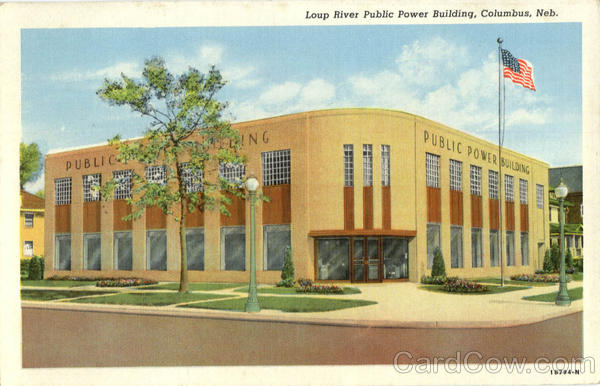 Loup River Public Power Building Columbus Nebraska
