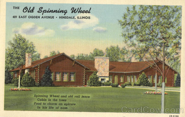 The Old Spinning Wheel, 421 East Ogden Avenue Hinsdale Illinois