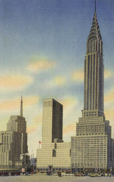 Chrysler Building East and Chrysler Building New York City