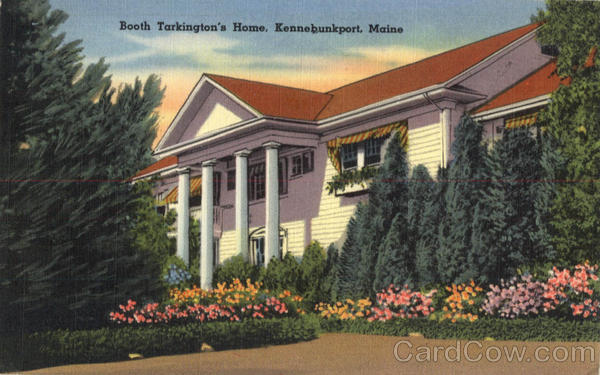 Booth Tarkington's Home Kennebunkport Maine