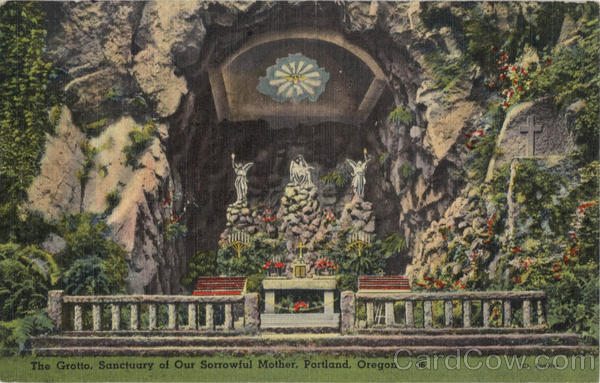 The Grotto, Sanctuary of our Sorrowful Mother Portland Oregon