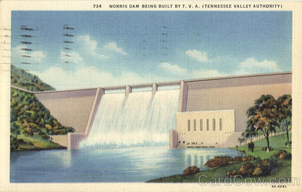 The Norris Dam Tennessee
