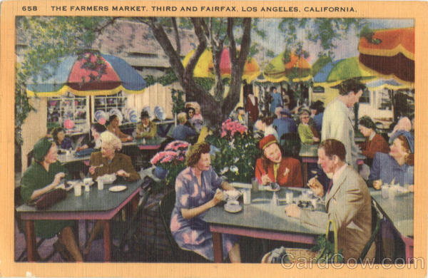 The Farmers Market, Third and Fairfax Los Angeles California