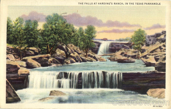 The Falls At Harding's Ranch Panhandle Texas