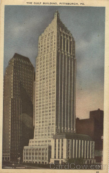 The Gulf Building Pittsburgh Pennsylvania
