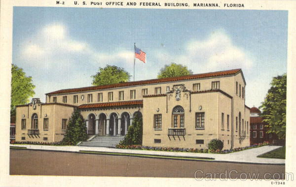U.S. Post Office And Federal Building Marianna Florida