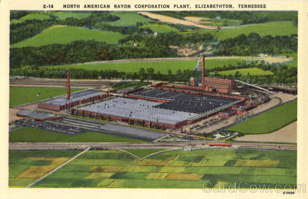 North American Rayon Corporation Plant Elizabethton Tennessee