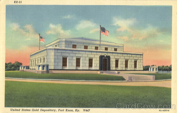 United States Gold Depository Fort Knox Kentucky