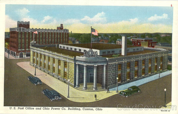 U. S. Post Office and Ohio Power Co. Building Canton