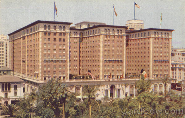 The Biltmore Hotel Los Angeles California