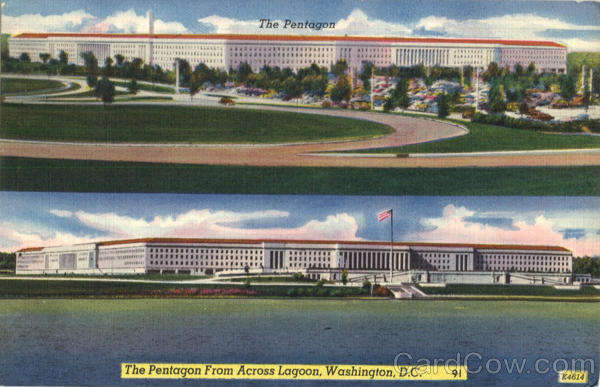 The Pentagon multi view Washington D.C District of Columbia