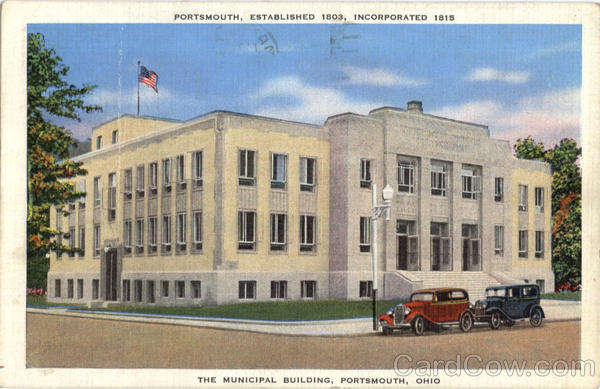 The Municipal Building Portsmouth Ohio