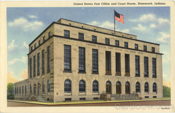 United States Post Office and Court House Hammond Indiana