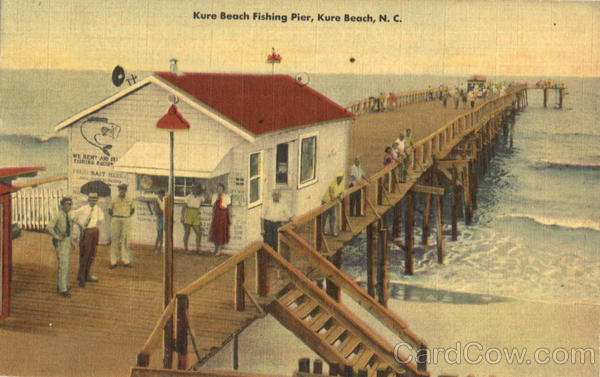 Kure beach fishing pier for Kure beach pier fishing report