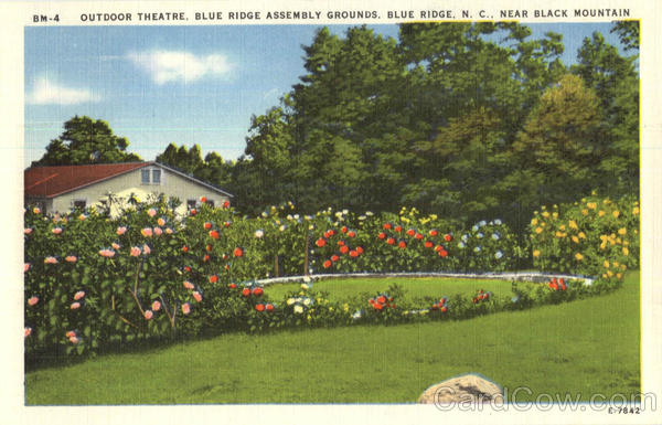 Outdoor Theatre, Blue Ridge Assembly Grounds, Black Mountain North Carolina