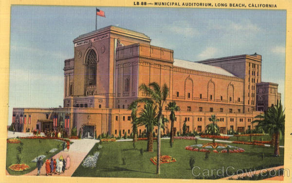 Municipal Auditorium Long Beach California